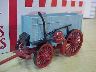 Wardie Jay type O Scale WOOD CIRCUS SUPPLY WAGON WOW