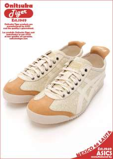 Asics Onitsuka Tiger MEXICO 66 LAUTA Ivory Shoes #T16