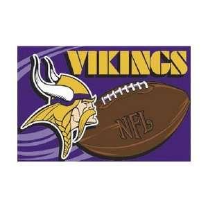 Minnesota Vikings NFL Team Tufted Rug by Northwest (20