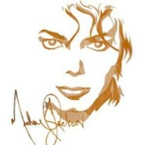 Stunning Michael Jackson Signature Portrait T shirt