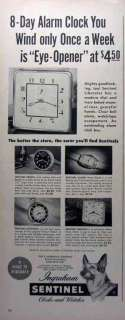 print advertising for Ingraham clocks & watches  Bristol , Conn