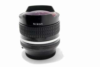 Nikon Nikkor Ai 16mm f2.8 lens Fisheye super wide angle fish eye