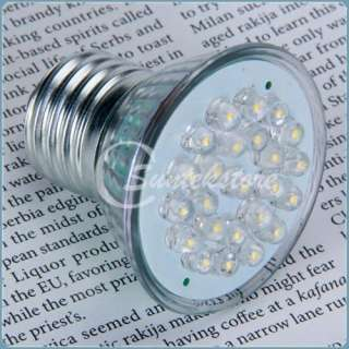 HR16 Grow Screw Base 24 LED 110V Bulb Spot Light Free Shipment