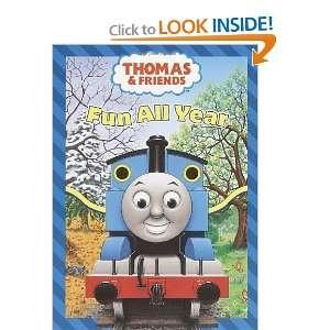 Fun all Year (Thomas & Friends) (Super Coloring Book