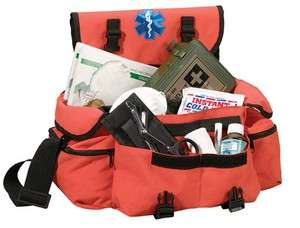 New EMT/EMS Paramedic Fire/Rescue Orange Trama Shoulder Bag w/ Star Of