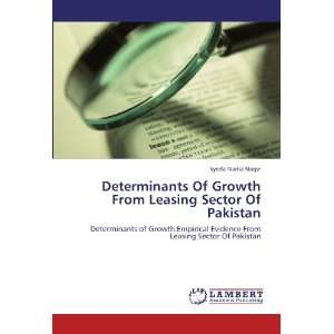 Leasing Sector Of Pakistan (9783847315551): Syeda Nadia Naqvi: Books
