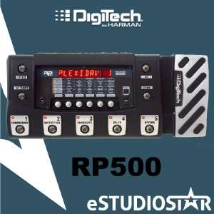 Digitech RP500 RP 500 Switching Multi Effects Guitar Processor Pedal
