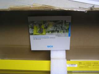 NEW SICK C4000 SAFETY LIGHT CURTAIN 26 600mm C40E