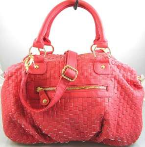 NEW NWT STEVE MADDEN ORANGE CORAL SATCHEL BAG