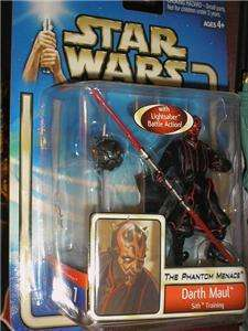 STAR WARS SAGA COLLECTION DARTH MAUL SITH TRAIN SC02/42