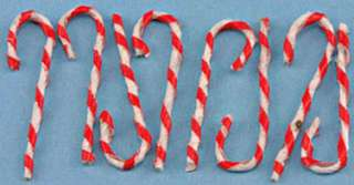 Dollhouse Miniature Set of Candy Canes. Designed for the 112 scale