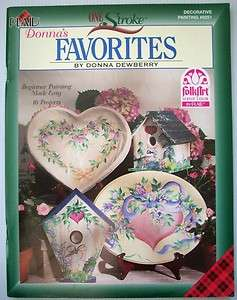 Favorites Donna Dewberry decorative painting instruction patterns