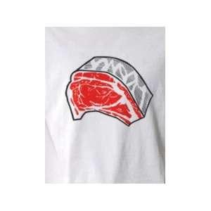 Meat Roy Lichtenstein  Pop Art Graphic T shirt (Mens