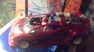 SPIDER MAN MOVIE WEB ROCKET SPIDER CAR & FIGURE MARVEL