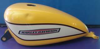 2005 Harley Davidson Sportster 1200 Roadster XL1200R Gas Tank Yellow
