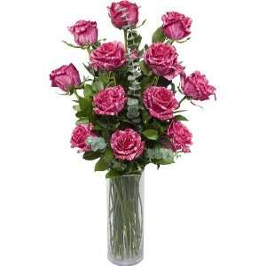 One Dozen Premium Long Stem Pink Intuition Roses without Vase