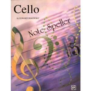Janowsky, Edward   Note Speller   Cello   Belwin Mills