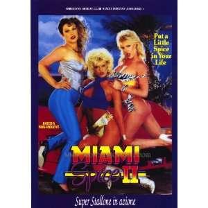 Miami Spice 2 Poster Italian 27x40 Amber Lynn Sheri St