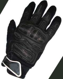 Bell Motocross Mountain Bike Gloves Carbon Kevlar  L
