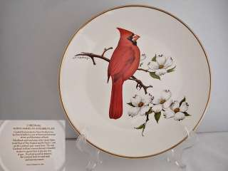 Avon Cardinal North American Songbird Collector Plate