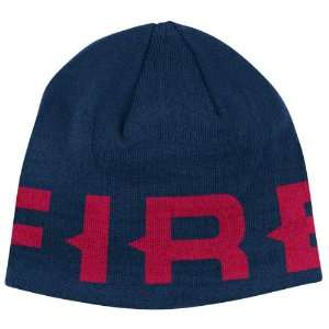 Chicago Fire Navy adidas Authentic Team Knit Hat Sports