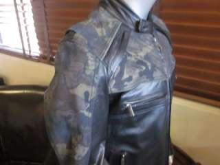 Harley Davidson Camo Deceptor Leather Jacket