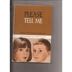 Children Ask): Elizabeth Schoenfeld, J. Stanley Schoenfeld: Books