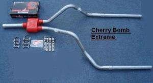 94 01 Chevy S10 Dual Exhaust w/ Cherry Bomb Extreme