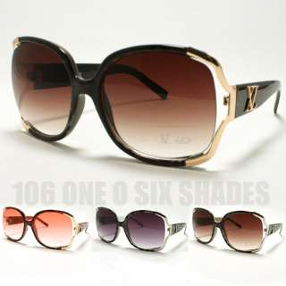 OVERSIZED Womens Fashion Sunglasses Squared Celebrity Chic Style New