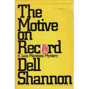 on Record (9780688010997): Dell Shannon, Elizabeth Linington: Books