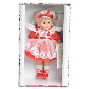 Dolls 2000  FEBRUARY CALENDAR COLLECTION Ginny doll stand Brand New