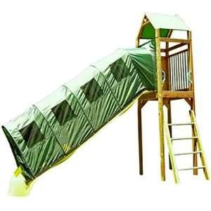 Fantaslides Swing Set Big Green 8 ft Slide Cover Toys & Games