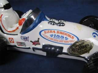 Vintage1971 Ezra Brooks Indy Race Car Liquor Decanter