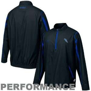 Nike Air Force Falcons Black Skinny Post Clima FIT Performance Jacket