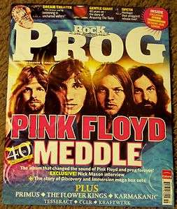 CLASSIC ROCK PROG Free CD PINK FLOYD Meddle 40th Anniversary # 19