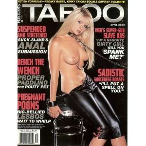 Hustler Taboo Magazine April 2003: Inc. L.F.P.: Books