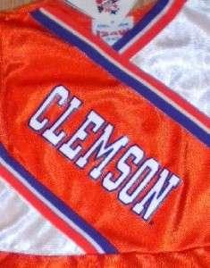 NWT Girls NCAA CLEMSON Tigers CHEERLEADER UNIFORM