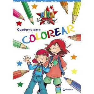Cuaderno para colorear / Coloring Book (Kika Superbruja Y Dani / Kika