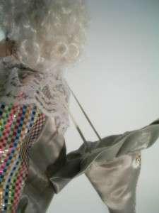 Brinns Brinn Porcelain Clown Doll Merle 15 Balloon