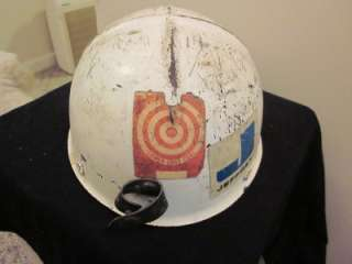 VINTAGE ANTIQUE LOW VEIN COAL MINE MINERS MINING HARD HAT CAP HELMET