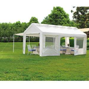 New Sunjoy 3 In 1 Outdoor Canopy Tent Shelter White