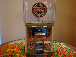 Cent *COCA COLA* Gumball Vending Machine Coin Op Coke Signs Ads