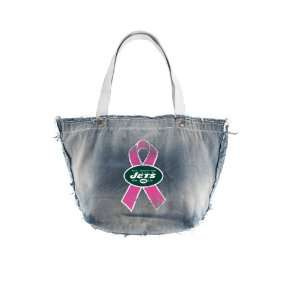 New York Jets BCA Vintage Tote (Black):  Sports & Outdoors