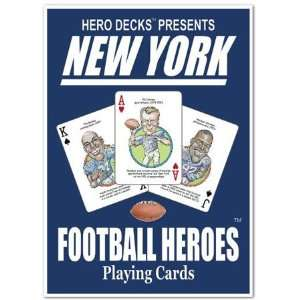Hero Decks   New York Giants   Playing Cards Toys & Games
