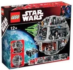 New Factory Sealed Lego Star Wars DEATH STAR 10188 NIB