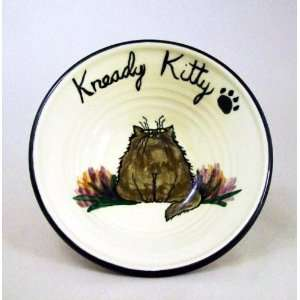 Cat Ceramic Bowl or Plate created by Moonfire Pottery Kitchen