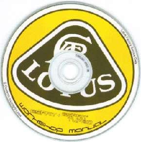 Lotus Esprit/Turbo Workshop/Parts Manual 88 92 Service