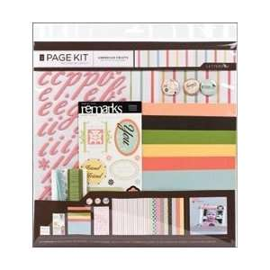Scrapbook Page Kit 12X12 Arts, Crafts & Sewing