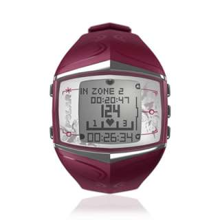 Womens Heart Rate Monitor Watch Purple Fitness & Cross Training new