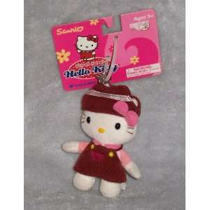 Sanrio Cute & Sweet Hello Kitty Plush Keychain   In